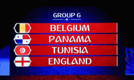 England World Cup 2018 Group Odds