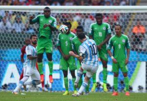 World Cup: Nigeria v Argentina